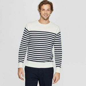 NEW Striped Nautic Men Sweater XL